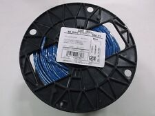 16 GA Stranded MTW TFFN AWM Gas / Oil Resistant Wire / Cable 500ft BLUE