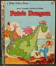"Little Golden Book  ""PETE'S DRAGON""  1977 - by disney"