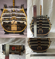 """Handmade 1/72 cross-section of """"Victory"""" flagship - slice of life on board kit"""
