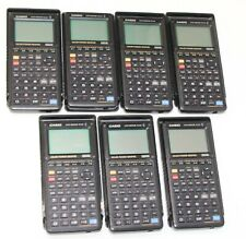 Lot of 7 Casio CFX-9850GB Plus Graphing Calculators Color Screen free shipping