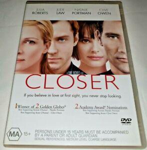 Closer DVD
