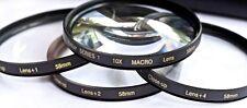 4Pcs Vivitar +1/+2/+4/+10 Close-Up Macro Lens Set For Fujifilm XE2 X-E2