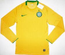 NIKE Celtic Glasgow [TAGLIA XL] Maglia manica lunga maglia maglioncino giallo NUOVO & OVP