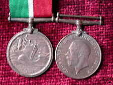 Replica Copy WW1 Mercantile Marine Medal Full Size