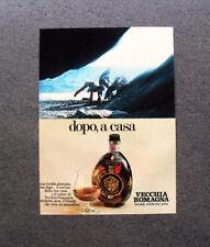 [GCG] M457 - Advertising Pubblicità - 1979 - VECCHIA ROMAGNA  ETICHETTA NERA