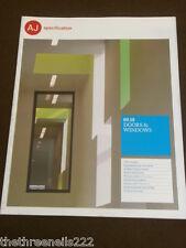 AJ SPECIFICATION - DOORS & WINDOWS - SEPT 2010