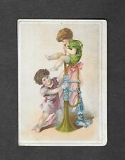 VICTORIAN TRADE  CARD - MEIGS & CO. FEBRUARY PANT SALE