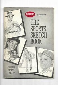 1959 Phillies Presents: The Sports Sketch Book by Zander Hollander-----Mays  VG