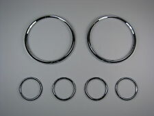 Jaguar e type smiths instrument chrome bezel set tôt pas original