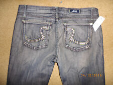 D women's ROCK & REPUBLIC stretch JEANS FLARE LEG LOW RISE 31 x 34