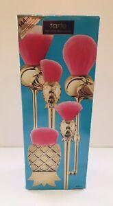Tarte 5-Piece. Let's Flamingle Makeup Brush Set - Flamingos & Pineapple FUN!