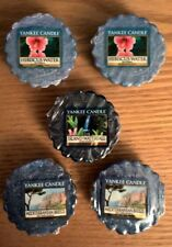 YANKEE CANDLE Warmer Melts Hibiscus Water Mediterranean Breeze Island Waterfall
