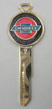 Rare Chevrolet Crest Yellow Gold Key B-48-A  1967 1971 1975 1979 1983 NOS
