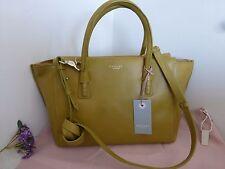 BNWT Radley 'Wimbledon' Green Leather Grab Shoulder Bag