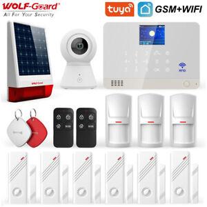 Wolf-Guard Wifi GSM DIY Home Alarm Security System TuYa APP Control 11 Languages