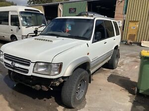 Wrecking Holden jackaroo for parts