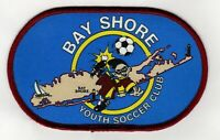 Vintage BAY SHORE NEW YORK YOUTH SOCCER CLUB PATCH Long Island