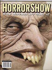 HORROR SHOW # 2 FX MAGAZINE JACK DAVIS EC CARDS HORROR HIGH SCHOOL JORDU SCHELL