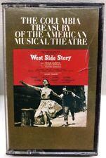 West Side Story Original Broadway Cast Cassette Tape JST 32603