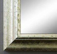 Spiegel Wandspiegel Holz Klassisch Genua in Silber 43,0 - Top Qualität