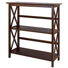 Casual Home Montego 3-Shelf Bookcase in Walnut Finish, 324-34U New
