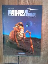 bd terres lointaines + dédicace. tome 1. LEO / ICAR. dargaud