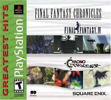 Final Fantasy Chronicles: Ff 4 Iv & Chrono Trigger Compilation Ps1