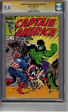 (B4) Captain America Special Edition #1 CGC 9.4 Signature Series *Steranko*