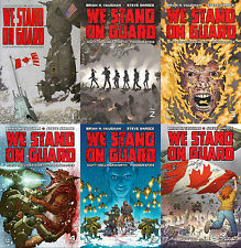 We Stand on Guard Complete Set #1-6 Image Brian K. Vaughan 1st Ptg