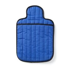 Hotties Microwave Hot Water Bottle Quilted Plain Royal Blue