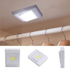 3W COB LED Wall Switch Wireless Closet Cordless Night Light Battery Operated