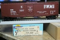 western maryland   BOX 50 FOOT CAR ATHEARN 1/87 HO built rtr