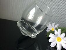 Normann Copenhagen Rocking Glass Brandy Etched Hand Blown Goblet 300ml Cup