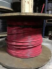 12/2C Unshielded FPLR Fire Alarm Cable. 500' Reel Red. FREE SHIPPING!!