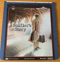 Vintage A Soldiers Story Movie CED Selectavision Video Disc RARE