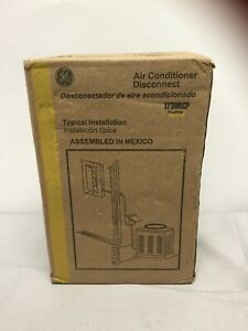 GE Fused AC Disconnect Outdoor Switch Air Conditioner 30Amp 120/240V TF30RCP