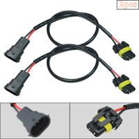 2x H11 H8 H9 Wire Harness for HID ballast to stock socket for HID Conversion Kit