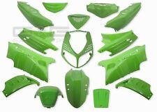 Kit carénage capot 15 parties de carénage en Vert pour Peugeot Speedfight