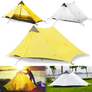 Waterproof Outdoor Camping Tent For 2 Person Backpacking Lightweight Tent