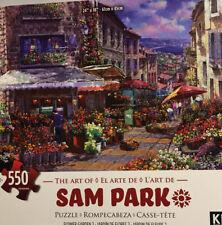 Sam Park 550 Piece Puzzle Flower Garden 2. New Unopened