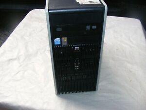 HP Compaq dc5700 Desktop PC (Intel Pentium D 3.20GHz 4GB MEM 160GB HD Win 7 Pro)