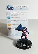 Dr. Demonicus #047 Rare Heroclix Nick Fury Agents of Shield Fresh! Look!