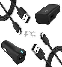 Samsung Galaxy S8, Note 8 Fast Charger! (Wall Charger + Car Charger + 2 Cable)