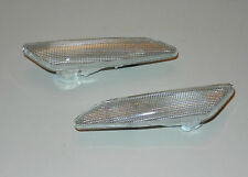 ALFA ROMEO 147/156 LANCIA DELTA - NEW Front Wing Indicator Clear PAIR Left+Right