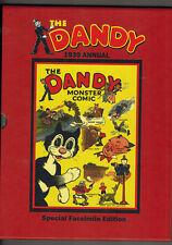 DANDY ANNUAL 1939 Facsimile edition - in slip-case - Dandy Monster Comic