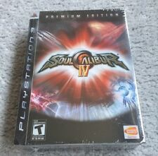 PS3 Soul Calibur IV Premium Edition Sony PlayStation 3 2008 Darth Vader SEALED