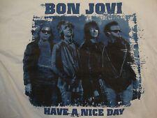 BON JOVI Have A Nice Day Concert Tour T Shirt Adult Size XL