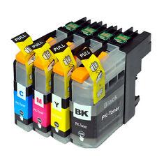 4 Druckerpatronen kompatibel für Brother LC-223 XXL LC-227 LC-225 mit Chip PK