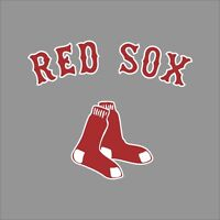 Boston Red Sox #9 MLB Team Logo Vinyl Decal Sticker Car Window Wall Cornhole