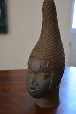 tete de la reinemère en bronze du Bénin